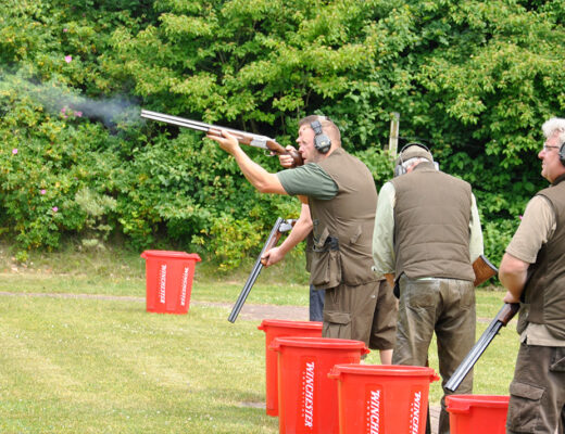 Die Schrum DJV-Schießanlage am Ortsrand von Tellingstedt öffnet nach Corona-bedingter Pause für Jäger und Sportschützen ihre Wurftauben- und Kugelstände.