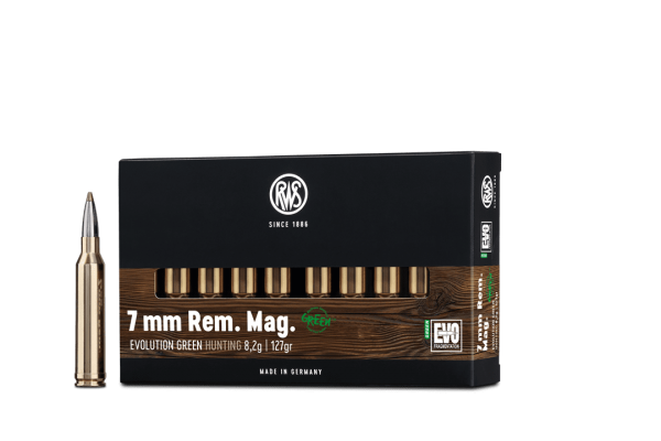7mmRemMag Evo Green 8,2g - 127gr.