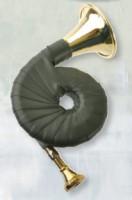 Taschenjagdhorn B Neusilbermundstück 6-windig