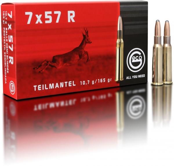 7x57R Teilmantel 10,7g - 165gr.