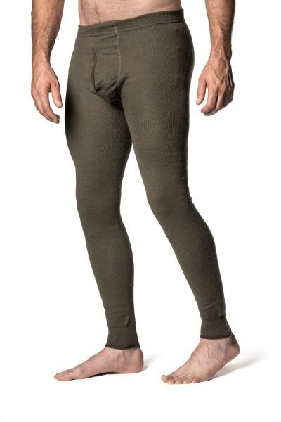 Woolpower Unterhose mit Eingriff - 200g Pine green