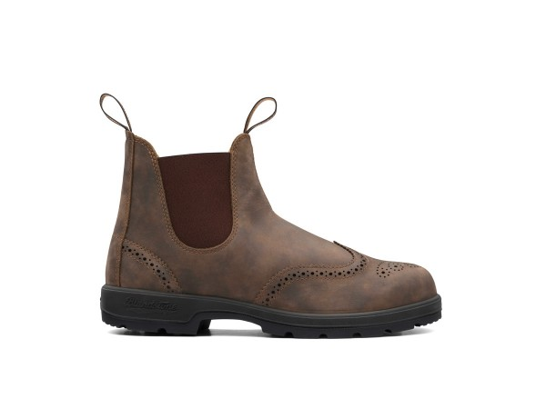 Blundstone Modell 1471 Brogued Rustic Brown
