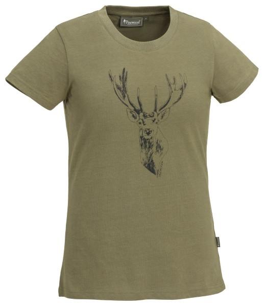 T-Shirt Red Deer H.Olive