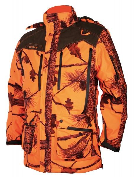 Somly Signaljacke lang Camouflage orange