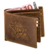 Geldbörse Hirsch Querformat