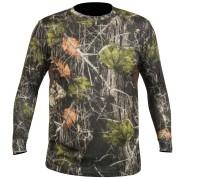 Hart T-Shirt-Crew-L Camo, Forest