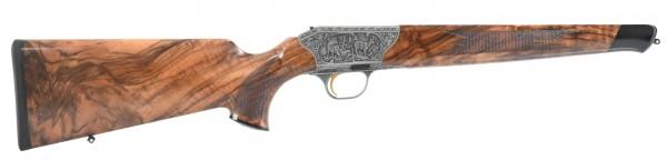 System R8 Baronesse SHK:6 Gravur: Gams und Rotwild / Pistolengriffkappe: Rothirsch