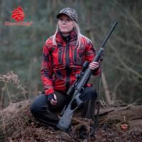 Shooter King Wendejacke Forest Mist Forest Mist Rot/Grün