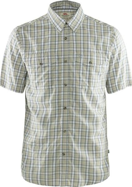Fjäll Räven Hemd Abisko Cool Shirt SS Shark Grey - Das funktionale Kurzarmhemd Abisko Cool Shirt SS von Fjällräven eignet sich ideal für warme Tage.