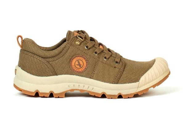 Schuh TL Low W CVS Kaki - Der TL Low Damenschuh von Aigle ist ideal für Revierarbeiten und den Alltag geeignet.