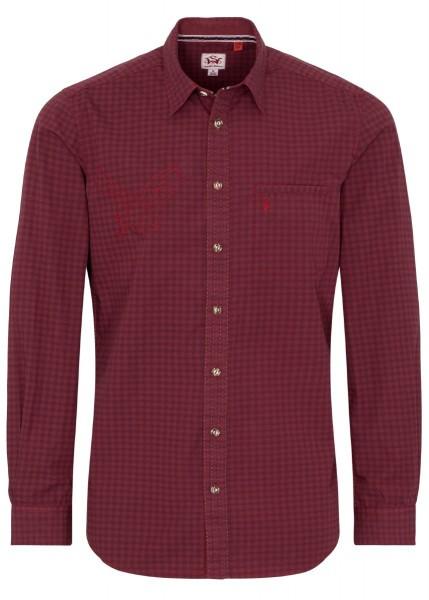 Spieth & Wensky Hemd Nelson LA Rot