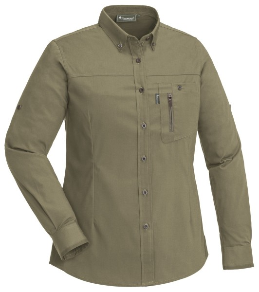 Bluse Tiveden Anti-Insect H.Olive
