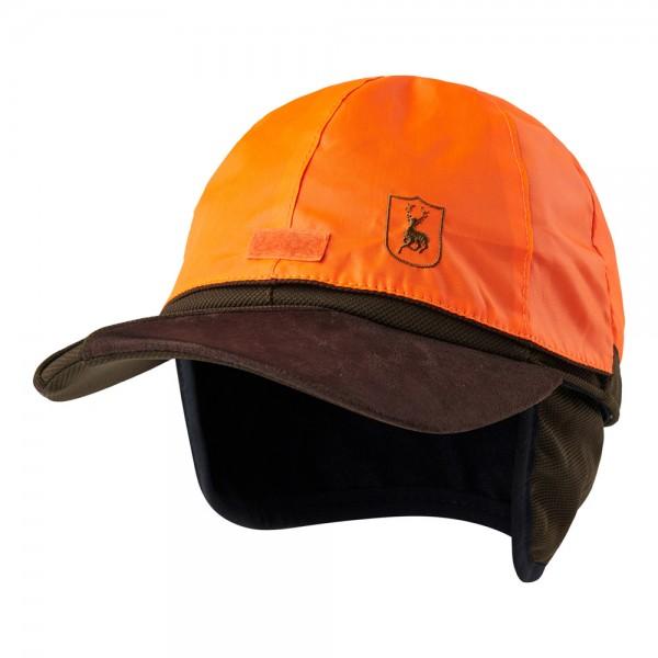Deerhunter Cap Muflon zum Wenden in signalorange,