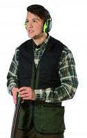 Schießwe. Trap Cotton Vest-SMU Green & black