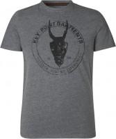 Seeland T-Shirt Key Point Grey melange
