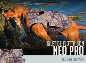 Neopren-Hundeschwimmweste PROT 60cm Brustumfang