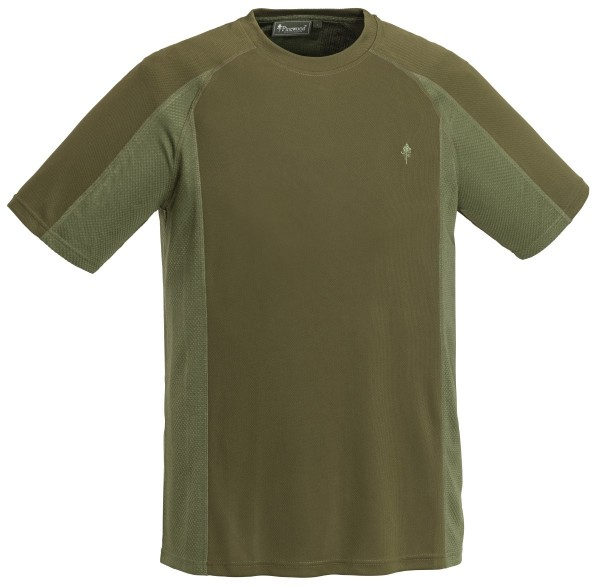 Pinewood T-Shirt Funktion H.Olive