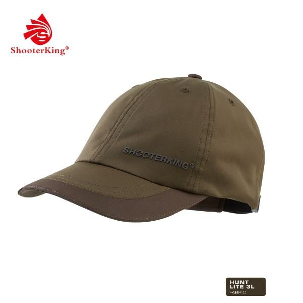 Shooter King Cap Huntflex Braun/Oliv