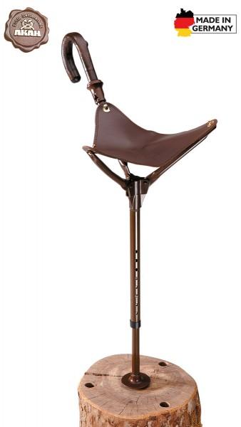 Sitzstock extra große Sitzfläche Sitzhöhe 50-70cm