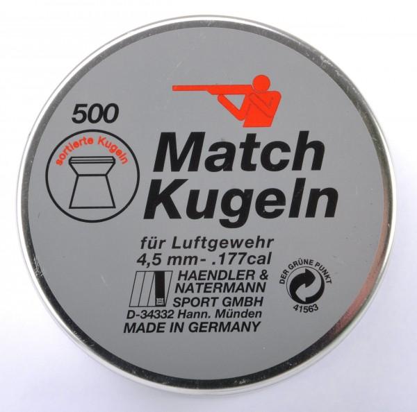 4,50mm glatt H&N Diabolo Match