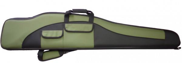 Büchsenfutteral Mit SD-Tasche 140cm - Grün/Schwarz