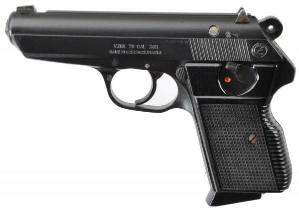 Pistole BRÜNNER VZOR Kal. 7,65mmBrowning