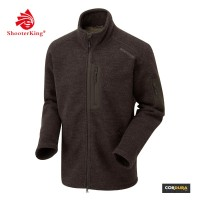 Shooter King Jacke Wool m. Teddyfutter Braun