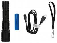 Taschenlampe Zoom PS-16737 Premium Steel