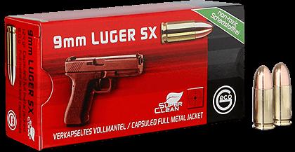 9mmLuger SX 8,0g - 124gr. BRK verkupfert