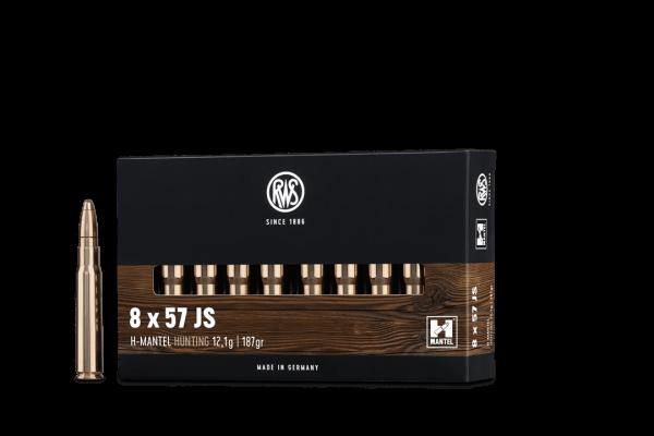 8x57JS HMK 12,1g - 187gr.