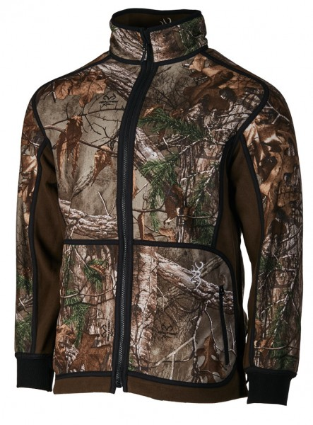 Browning Fleecejacke. Kombinierbar mit den XPO™-Light Jacken..