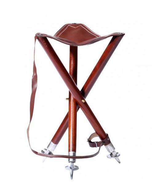 Dreibein-Ansitzstuhl mit Tell. Sitzhöhe 55cm