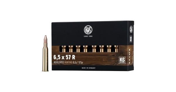 7x57R Kegelspitz 8,0g - 123 gr.