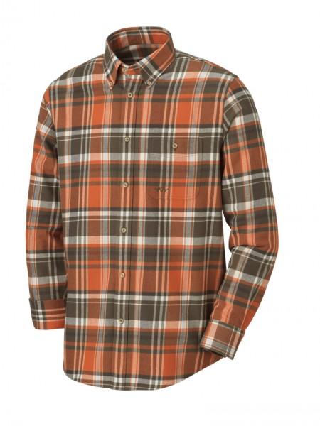 Blaser Hemd Heavy Flannel. Schickes Langarmhemd mit Button-Down-Kragen. 100% Baumwolle