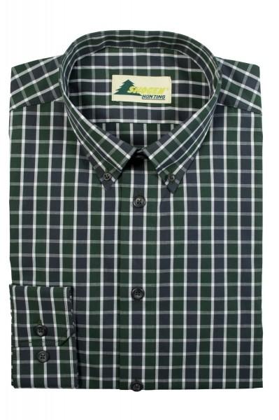Hemd Slim Line Armlänge 70 cm Green/Black