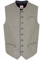 Spieth & Wensky WEste Pilot Grün/Schwarz - Die schicke Weste Pilot von Spieth & Wensky ist ein zeitloser Begleiter zur Lederhose oder zum Trachtenhemd.