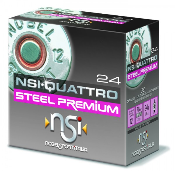 12/70 Q Steel Premium Trap T7 2,4mm - 24g