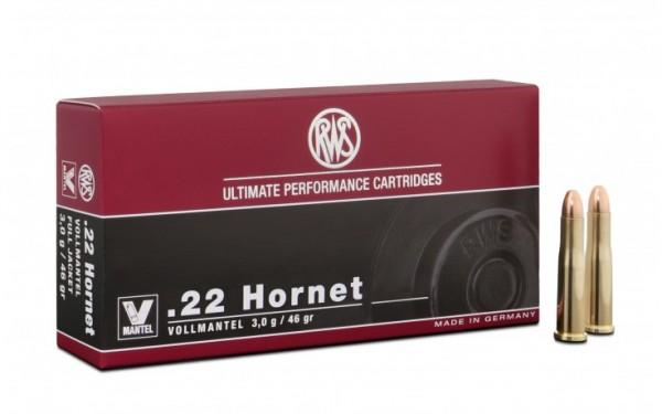 .22 Hornet Vollmantel 3,0g - 46gr.