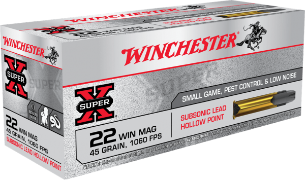 .22WinMag Subsonic Mag. 2,92g - 45gr. 45 MAX