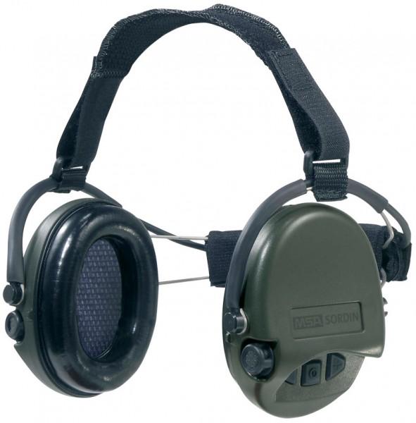 Gehörschutz Supreme Pro Neck grün - mit Nackenband Digital
