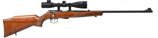 Mod.1415/16 , ZF Walther 3-9x40 Abs. Plex beleuchtet, Festmontage .22lr