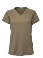 Blaser V-T-Shirt Cornelia Schilf-mélange