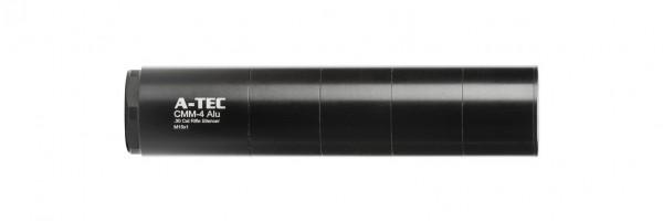 A-Tec CMM 4 Alu 175 mm - Schalldämpfer mit 24 dB Schallreduzierung
