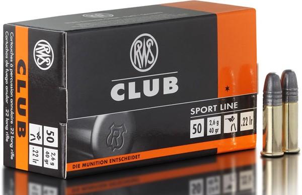 .22lr Club 2,6g - 40gr.