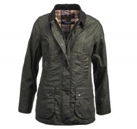 Barbour Wachsjacke L-WT Beadnell Archive olive