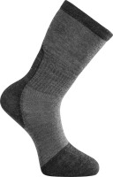 Woolpower Socke Skilled Liner Dunkelgrau-Grau
