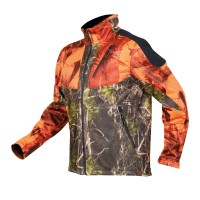 Hart Softshelljacke Lanbro-S Orange-Grün