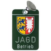 Autoschild - Jagdbetrieb Aluminium Schleswig-Holstein