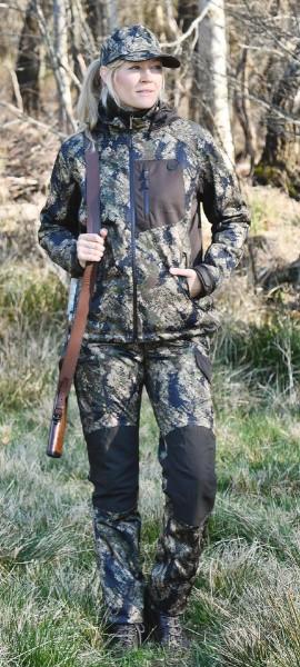 Shooterking Hose Damen Huntflex Digital Camo Forest