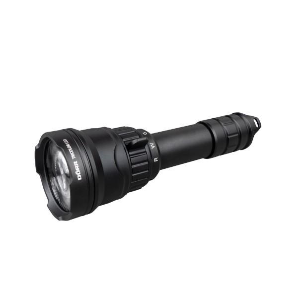 Dörr Taschenlampe LED Jagd Tri-Color Set mit Zoom - mit drei unterschiedlichen Farbmodi